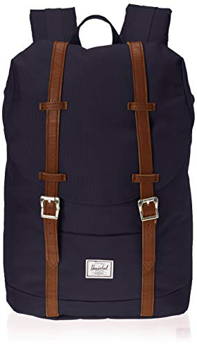 Herschel Unisex-Erwachsene Retreat Mid-volume Multipurpose Backpack, Kunstleder...