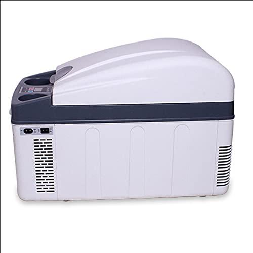 YICHEN 20L Mini refrigerador Mini refrigerador más frío y más cálido Enfriamiento de Doble núcleo para el hogar, Dormitorio, Coche, Vacaciones, Maquillaje de Bebidas para Alimentos