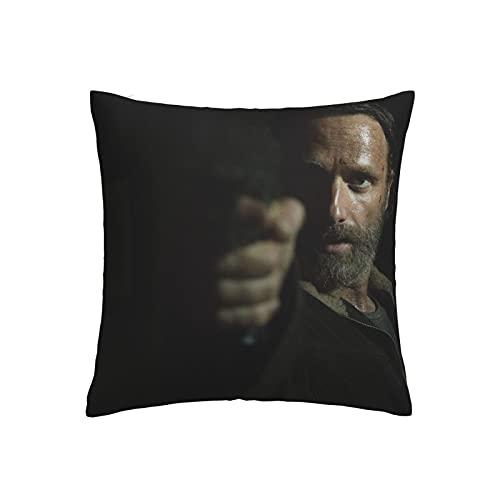 The Walking Dead - Fundas de cojín (45 x 45 cm), diseño de cadena