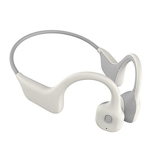 Gama alta Prueba de conducción ósea inalámbrico Auriculares BT Sport Headset StereoSweat con auriculares deportes al aire libre Auricular de carga USB for auriculares con micrófono for conducción Cicl