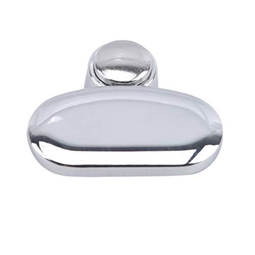#N/A FEITeng Clips de soporte para espejos de baño, abrazaderas de clip de vidrio para el hogar, accesorios fijos, Aleación de cinc, Ovalado., As Descriptions