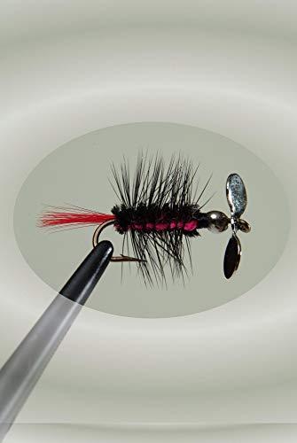 Pistol Pete Hi-Country Fishing Flies, Size 10, Black Tiger