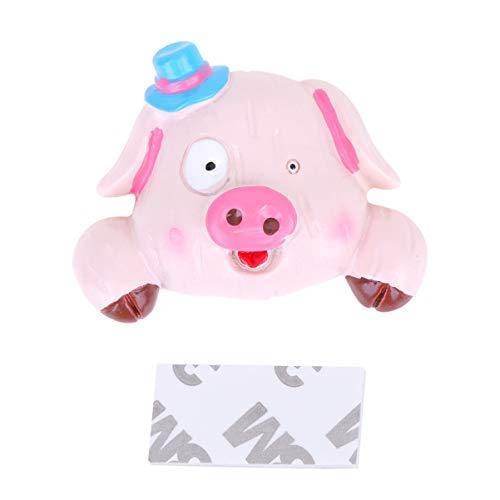 Healifty Lichtschalter Aufkleber 3D Tier Schwein Wandaufkleber Kinder Schlafzimmer Wohnzimmer Haus Festival Neujahr Steckdose Dekoration