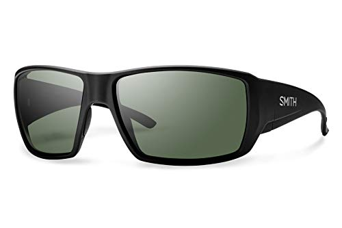 Smith Guides Choice ChromaPop+ Polarized Sunglasses, Matte Black, Gray Green Lens