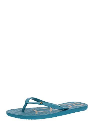 Roxy Sandy, Scarpe da Spiaggia e Piscina Donna, Blu (Blue Depths 4bd), 36 EU