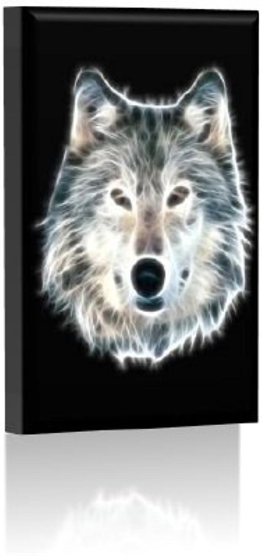 LED Bild - Bilder fertig gerahmt - Kunstdruck auf Wandbild - Leuchtendes LED Bild - LED Wandbild - Model 03 - 30x45 cm