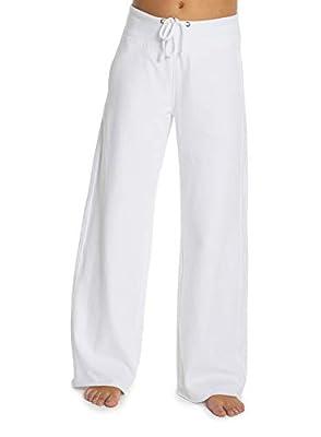 Barefoot Dreams Malibu Collection Women's Brushed Jersey Pant, Luxury Loungewear, Gym Track Bottoms