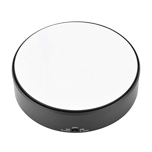 Pissente sieradenhouder draaibaar, display standaard 360 ° draaibaar spiegeloppervlak instelbaar toerental draaiplateau sieradenhouder horloge display
