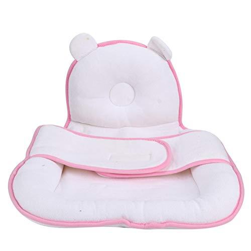 Almohadas ajustables que dan forma a la cabeza del bebé, para un buen ambiente para dormir(Pink sleeping pad)