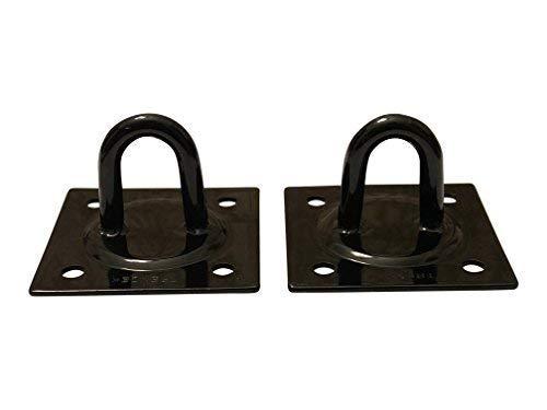 Ganchos de teto de suspensão da claw IT (sem parafusos) de aço resistente, pontos de derretimento de solda fortes/carga segura de 657 kg. Pacote com 2 ganchos TRENZEK para diferentes opções de montage