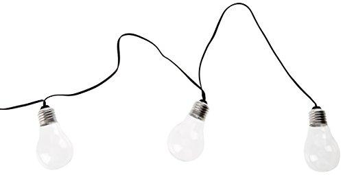 Lumisky Bat-Guiverre10 - Guirnalda luminosa para exteriores, LED, conexión a red eléctrica