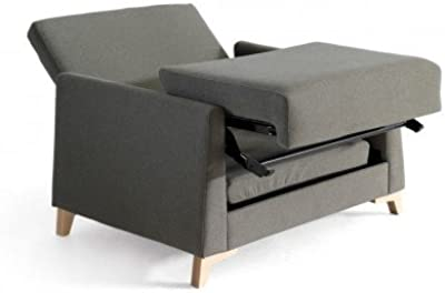 Sofá Cama Design Jasper en Vinyl Verde Dormir 70/140 * 200 ...