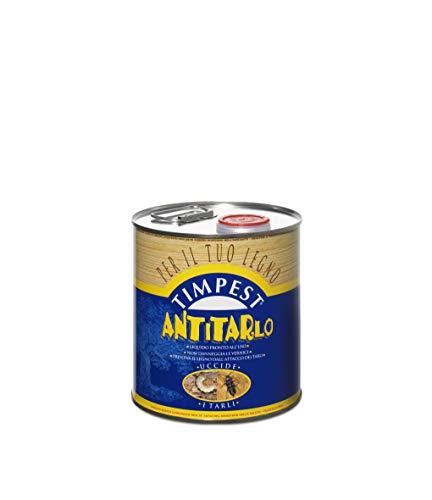 TIMPEST ANTITARLO LT. 2,5 - base solvente attivo contro tarli, larve, termiti e parassiti del legno - liquido pronto all'uso