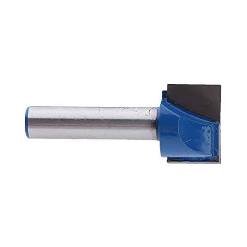 Nutfräser Holzfräser Schaftfräser Holzarbeitung Werkzeug für Trimmer, 8mm Schaft - 8x19mm