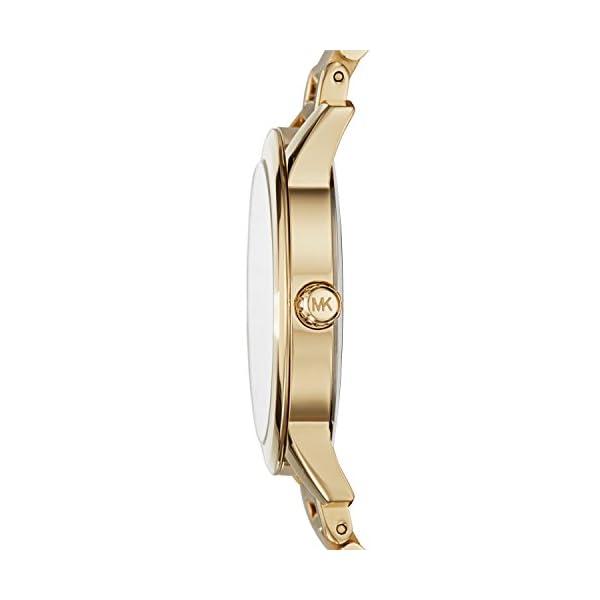 Michael Kors Hartman – Reloj análogico de cuarzo con correa de acero