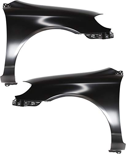 Front Fender Compatible with 2003-2008 Toyota Corolla Driver and Passenger Side