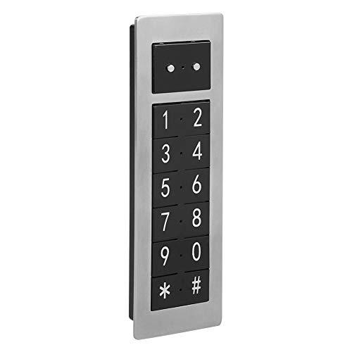 Elektronisch kastslot, Smart Digital Cabinet Door Code Lock Kit, Wachtwoordtoetsenbordvergrendeling, Beveiligingsslot van toepassing op sauna, Zwemmen, Golfbaankast