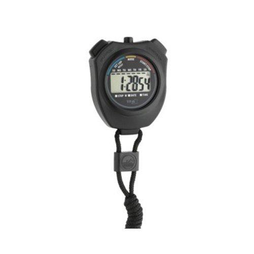 neoLab 2-7274 Stoppuhr mit Umhängeband, 1/100 sek, Uhrzeit, Datumsanzeige, Zwischenzeit