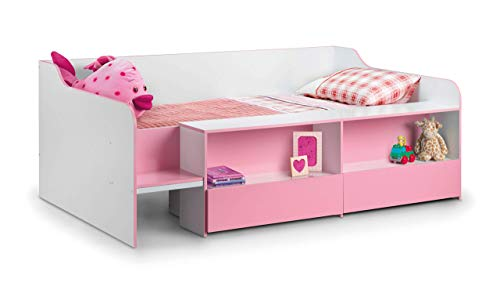 Julian Bowen Stella Low Sleeper, White/Pink, Single