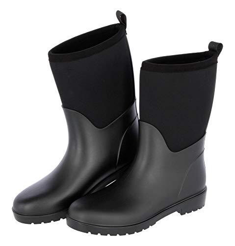 Covalliero Kerbl 32207 Stiefel NeoLite, Gummistiefel Stallstiefel Wärmeisoliert, 41, Schwarz