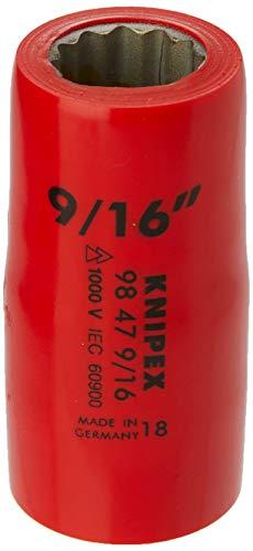 KNIPEX Douille (douze pans) avec carré femelle 1/2\
