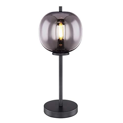 WTD Lese - Lámpara de mesa (cristal), color negro