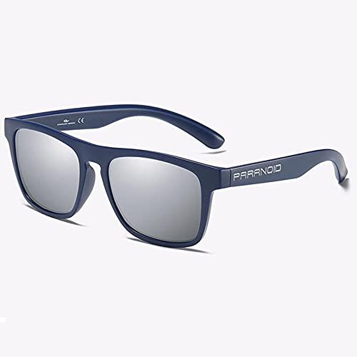 WQZYY&ASDCD Gafas de Sol Gafas De Sol Polarizadas para Hombre De Alta Moda Gafas De Sol Clásicas Cuadradas Deportivas Uv400 Gafas para Exteriores-C10