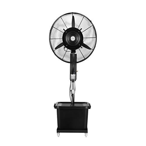 HGNA-Kühl&Heizsystem Großer Luftkühler Bodenventilator Spray Plus Wasser einstellbar Factory Cooling Black Anpassung 3 (Multi-Size) (Size : 810mm)
