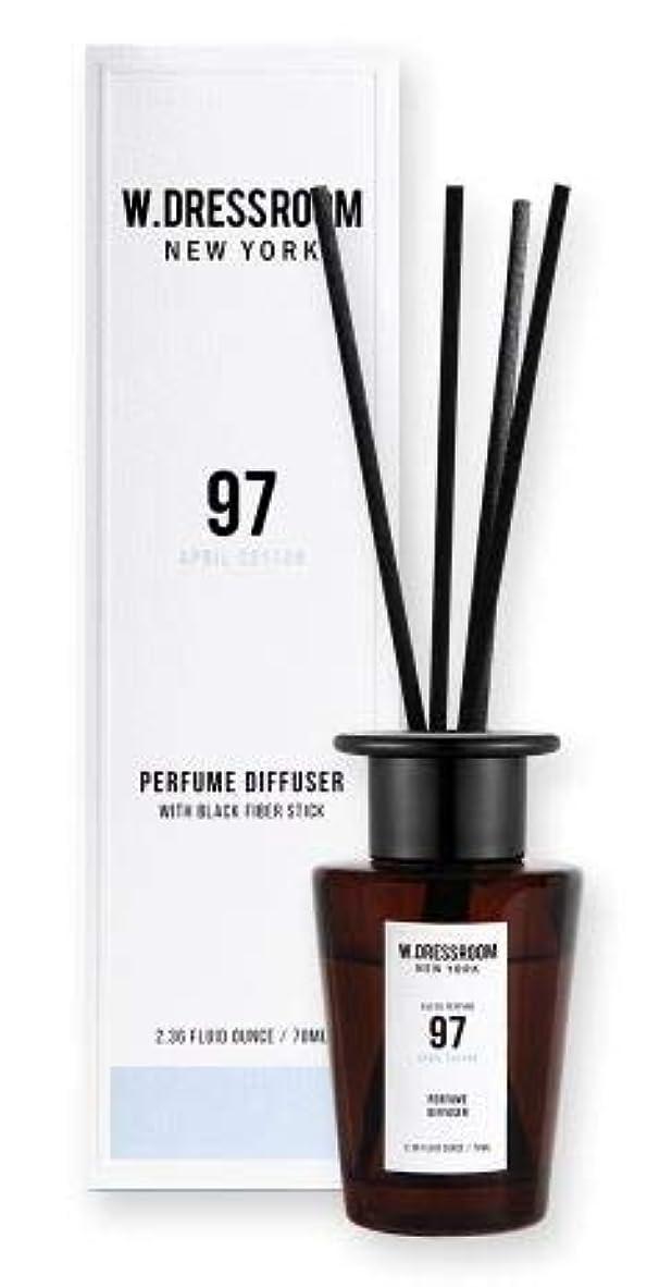 北東背景治すW.DRESSROOM Perfume Diffuser 70ml #No.97 April Cotton/ダブルドレスルーム パフュームディフューザー 70ml #No.97 エイプリルコットン [並行輸入品]