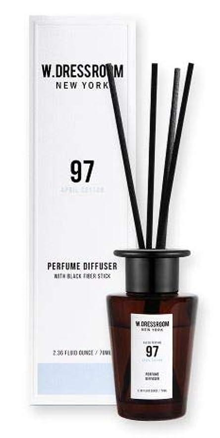 抑制するフォーカスかけるW.DRESSROOM Perfume Diffuser 70ml #No.97 April Cotton/ダブルドレスルーム パフュームディフューザー 70ml #No.97 エイプリルコットン [並行輸入品]