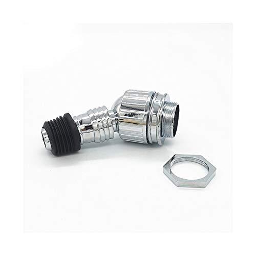 ZRNG Adaptador de presión de Drenaje de Piso Ajuste Universal Ajuste de Sellado Alcantarillado Cromado Cromado Conector de tubería de Codo Especial de Lavado casero (Color : PJ SLJT 10038)