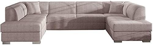 Big U-SHAPED SOFA BED Arco-U K Seater Sleeping Function Storage Elegant Couch 340cm 11'1'' FAST DELIVERY
