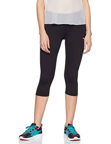 PUMA Core-Run 3/4 W, Pantalone Donna, Nero, S