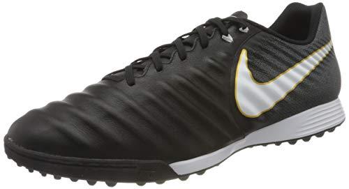 Nike Tiempox Ligera Iv Tf, Scarpe da Calcio Uomo, Nero (Black/white-black), 41 EU