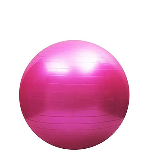 Drizzle バランスボール フィットネスボール 55cm/65cm(4色)厚い 耐荷重997KG ヨガボール アンチバースト 滑り止め アレルギー防ぎエクササイズボール 椅子 産後 腰痛予防 ダイエット フットポンプ付き(ピンク-A,65)