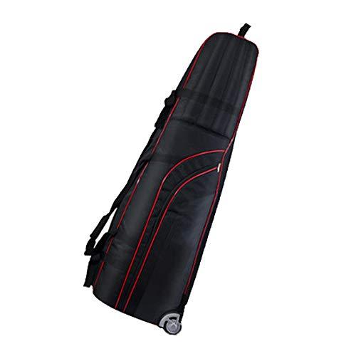 Leilcjfvli Golf airbag Waterdichte Opvouwbare Dikke Airbag Volwassen Golf Accessoires Reizen Vakantie Draagtas Zwart Blauw Roze Kan worden gebruikt tijdens het vliegen op het vliegtuig op de airpo