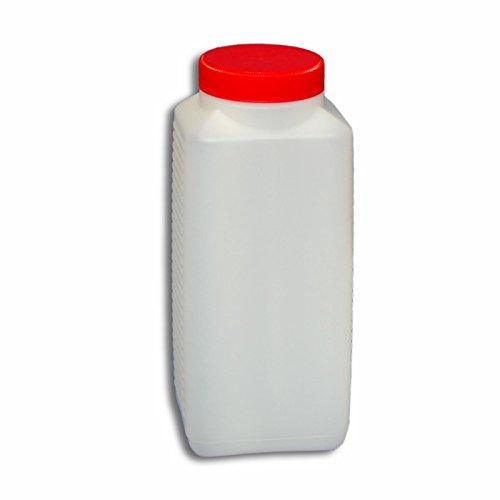 1000 ml Plastikflasche Weithalsflasche mit Verschluss Behälter PE-Flasche lebensmittelecht ***Ideal zum Abfüllen von Kosmetikprodukten***