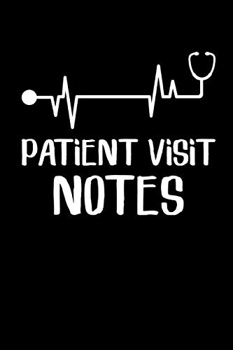 Patient Visit Notes: Hospice Nurse Blank Lined Notebook