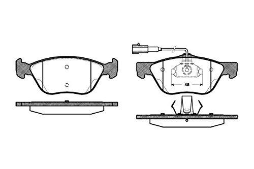 Preisvergleich Produktbild Remsa Bremsbelagsatz für Scheibenbremse,  0589.22