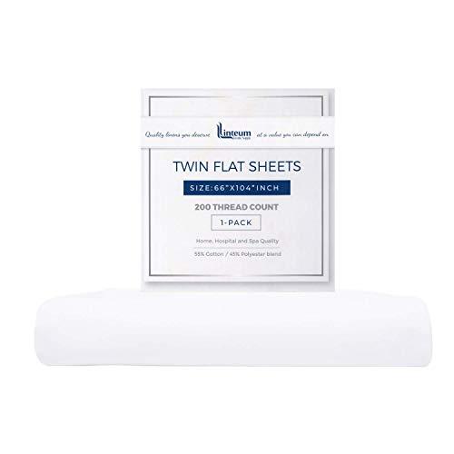 flat white sheet twin - 2