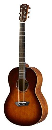Yamaha CSF3MTBS Westerngitarre tobacco brown sunburst, Handliche und edle Akustikgitarre mit sattem Sound, Ideal für unterwegs, Inklusive Gitarrentasche