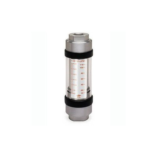 Hedland Flow Meters (Badger Meter Inc) H761A-010-HT - Flow Rate Hydraulic Flow Meter - 10 gpm Max Flow Rate, SAE-16 1 NPTF in Port Size
