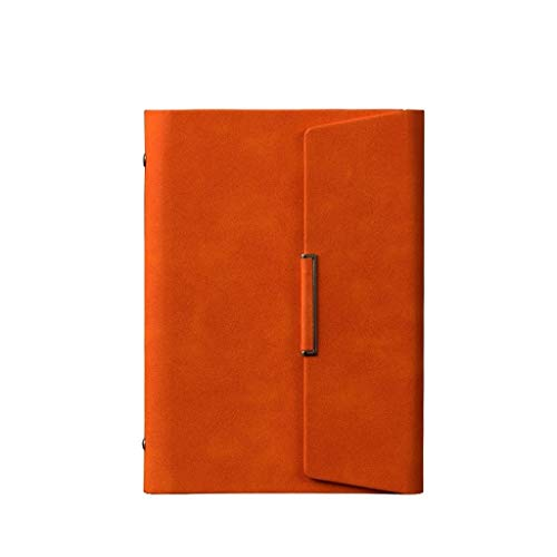 WYH Composition Business Diary Memos Office School Stationery Pu Leather Detachable Notebook A5 Notepad (Color : B, Size : 17 * 23.2cm)