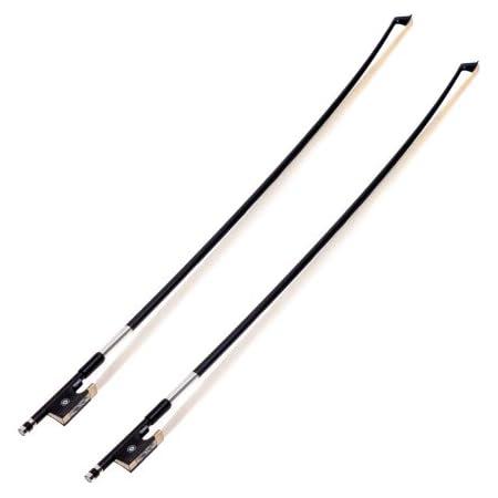Sandner CB-4 4//4 Composite Violinbogen Violine Bogen runde Stange Bow Naturhaar