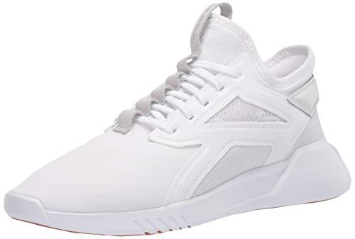 Reebok Freestyle Motion Lo - Zapatillas de baile para mujer, Blanco (Blanco/gris verdadero/goma de goma Reebok), 38.5 EU