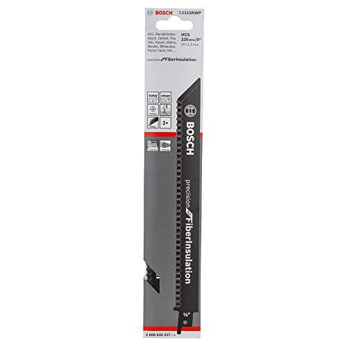Hojas para sierra de sable S 1113 AWP (2 unidades, 225 x 22 x 1,5 mm)