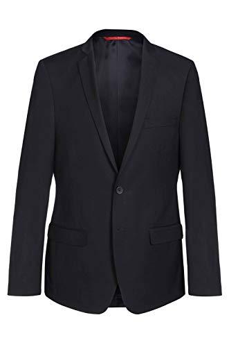 Thomas Goodwin - Tuta da uomo Sakko Slim Fit con sistema di costruzione Tom (pantaloni per tuta e giacca) Nero 90