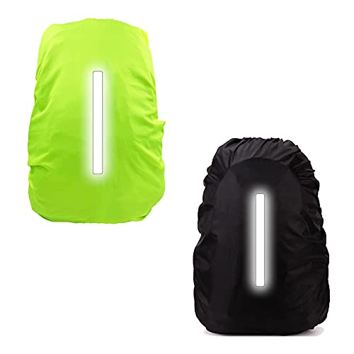 backpack rain cover waterproof,Waterproof Rucksack Cover with Reflective Strap,backpack cover reflective,rucksack cover dustproof,rucksack cover for Camping Hiking Cycling Traveling