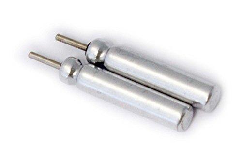 vhbw 2X Set Lithium Stabbatterie 25mAh (3V) für Angelposen, Posen, YAD, LED wie Typ CR425.