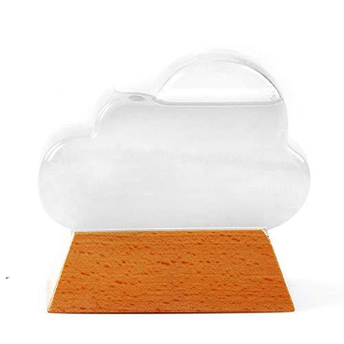 Fiaoen -Wolkenwetterflasche, Sturmglaswetterstation, Wettervorhersagerkreative Vorhersage Dekoratives Wetterglas Im Nordischen Stil, Wolkenwetterflasche normal